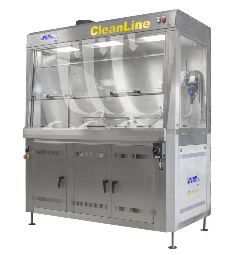 CleanLine mit gezielter Luftströmung | Professionelle Reinigung und individuelle Reinigungslösungen