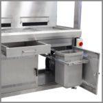 CleanLine 1600 | tool drawer | waste bin