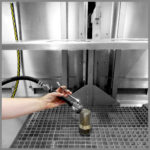 CleanLine 2600 | user-friendly rinsing hose with spray nozzle