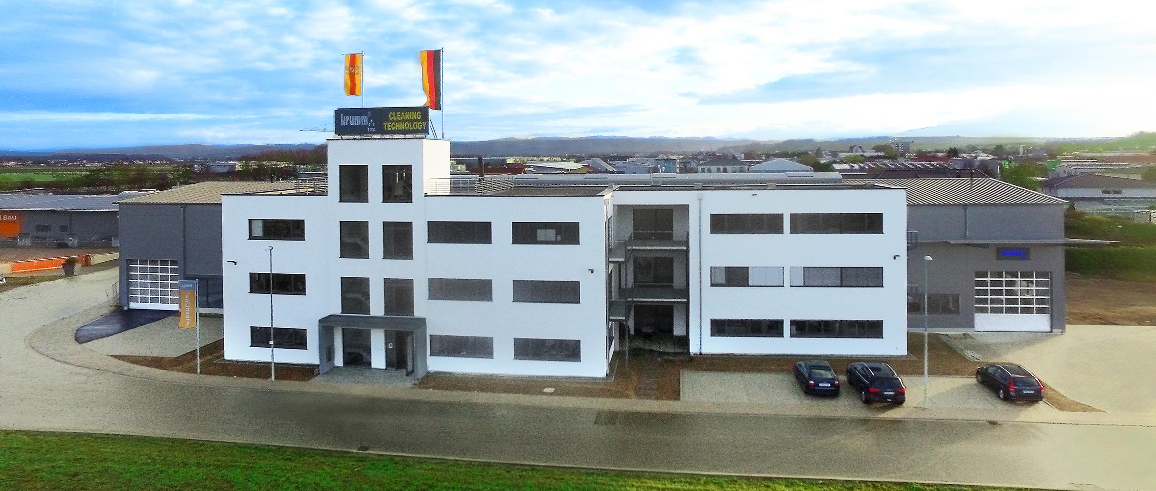 Unser Vertriebs- und Produktionsgebäude in Endingen am Kaiserstuhl