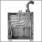 CleanLine 1800 EX | back pipework with exhaust air connection